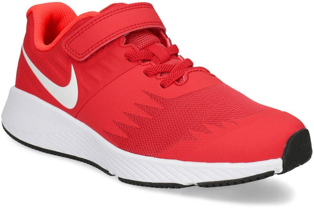 7d10fb59f1 Červené detské tenisky na suchý zips značky Nike - Lovely.sk
