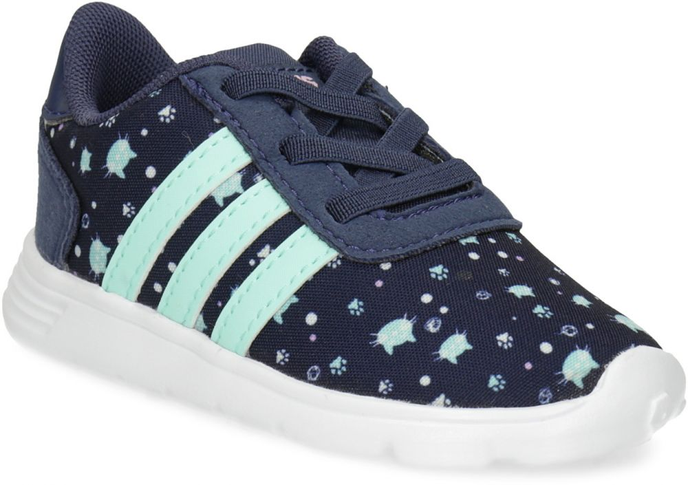 8c2e324cb651 Modré detské tenisky so vzorom značky Adidas - Lovely.sk