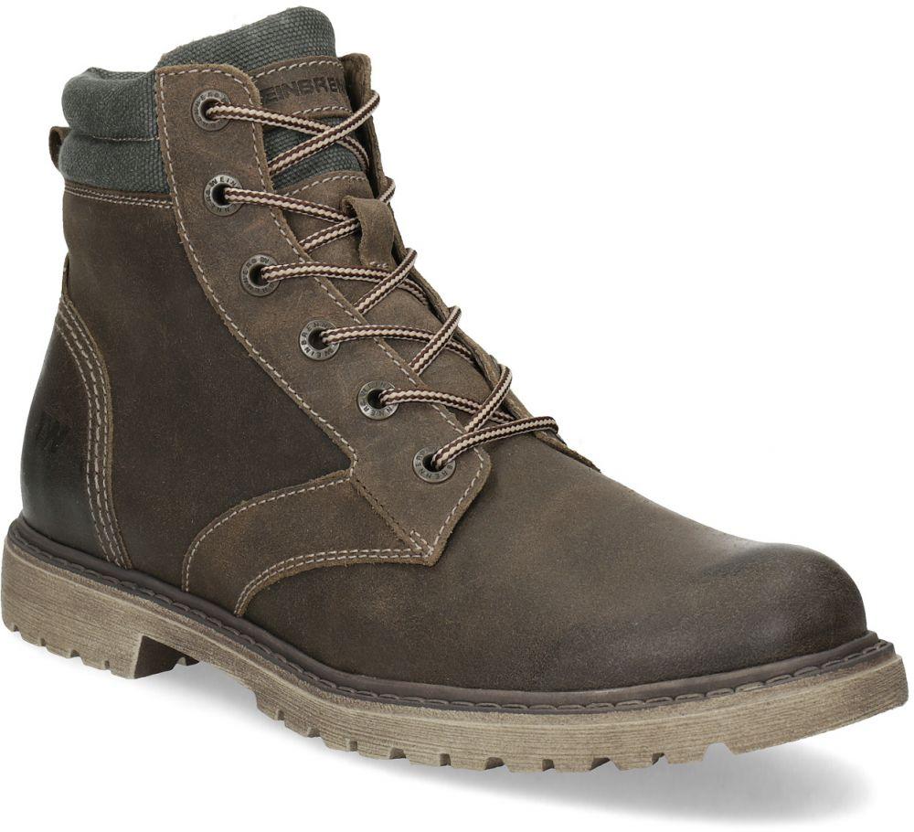 ccd3e18046 Hnedá kožená pánska zimná obuv značky Weinbrenner - Lovely.sk