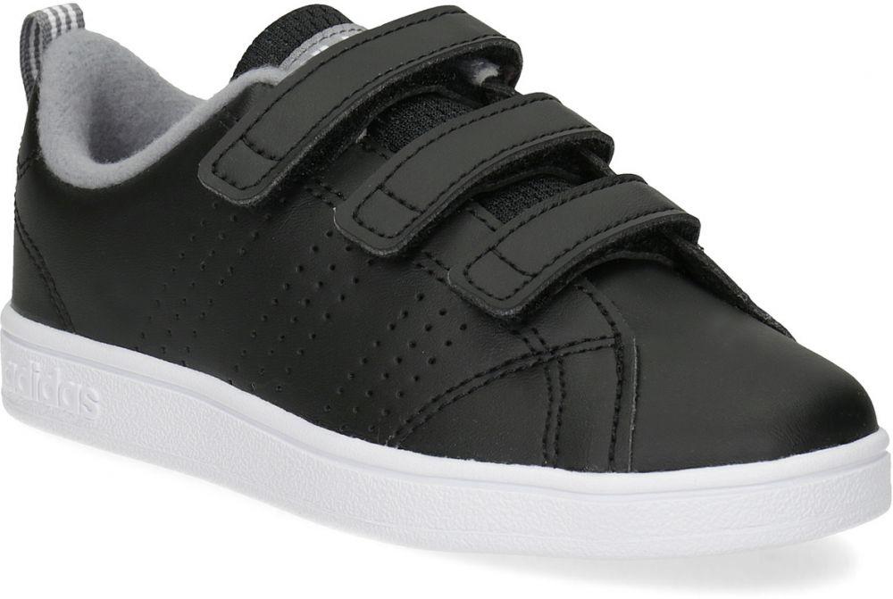 Detské čierne tenisky na suchý zips značky Adidas - Lovely.sk 5ec3e6686d7