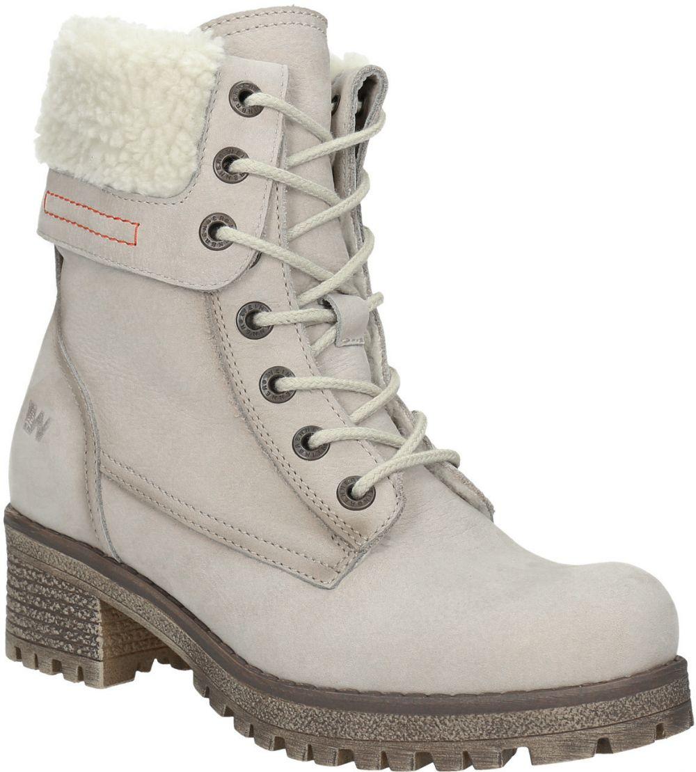 Kožená zimná obuv s kožúškom značky Weinbrenner - Lovely.sk 0a033db9588