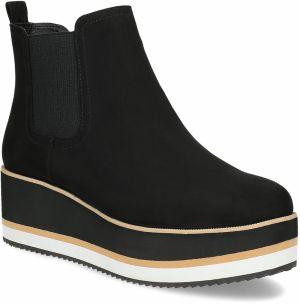 Kožené členkové topánky na podpätku značky Baťa - Lovely.sk 4717987421