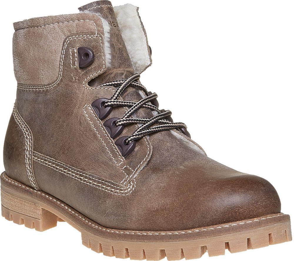 cb48ed7892fb0 Dámska kožená zimná obuv značky Weinbrenner - Lovely.sk