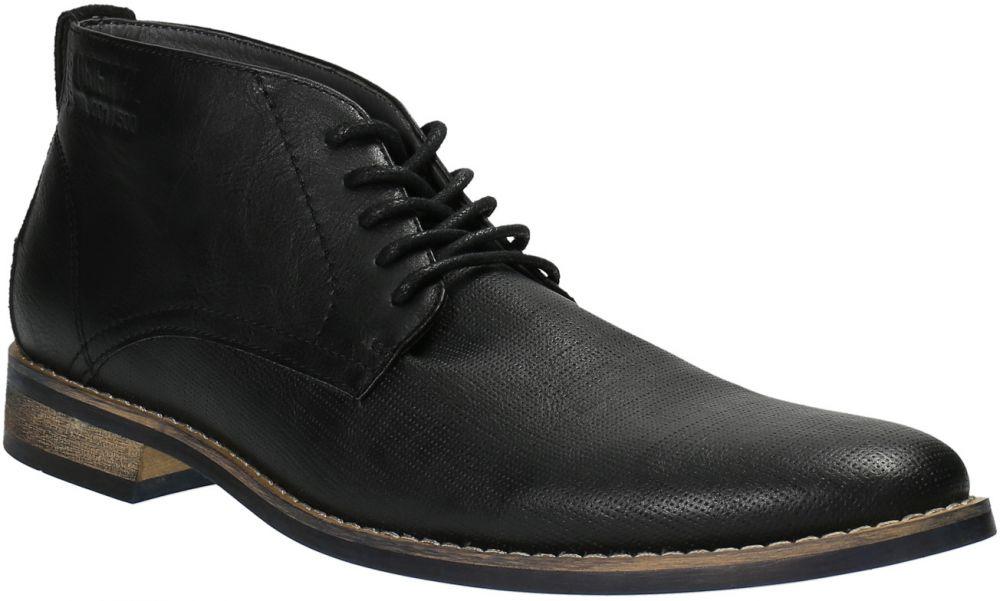 ec15afbef8540 Pánska členková obuv čierna značky Baťa - Lovely.sk