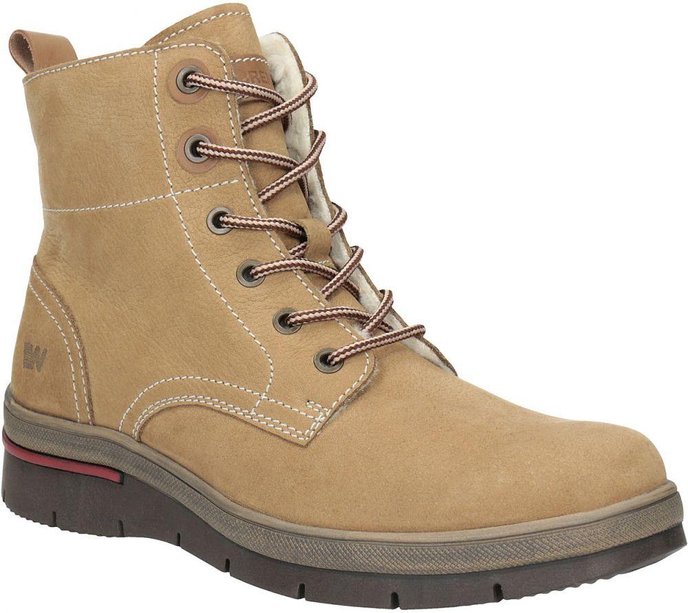8e51878b18926 Dámska zimná obuv kožená značky Weinbrenner - Lovely.sk