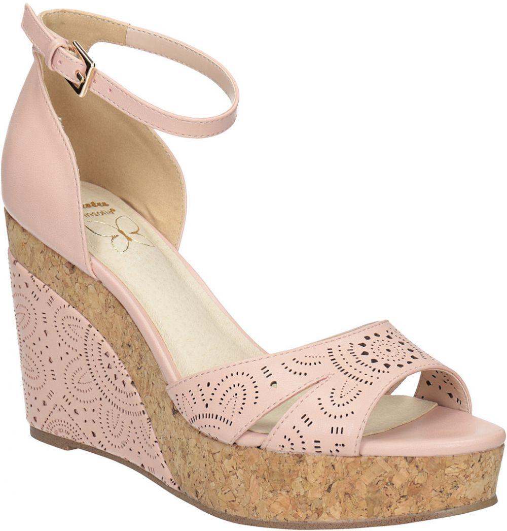 53daafc710b55 Ružové sandále na platforme značky INSOLIA - Lovely.sk