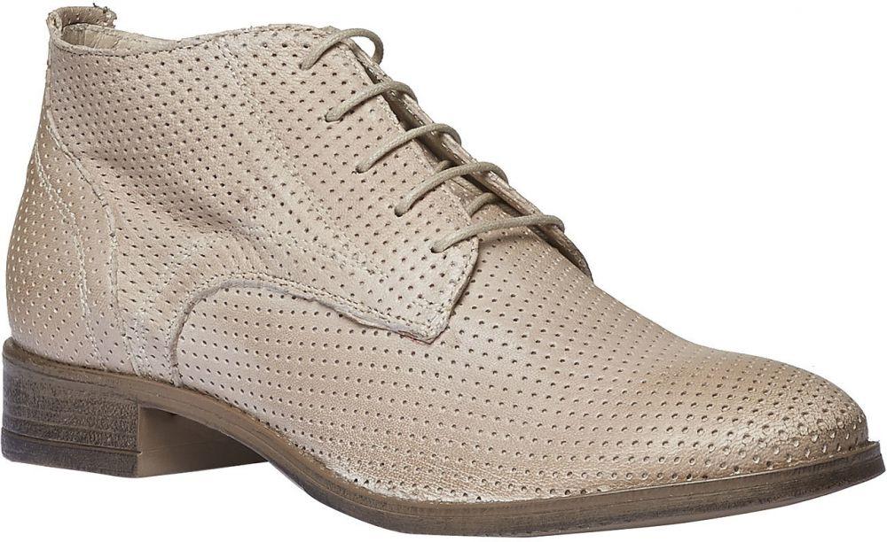 56b5ad81f5515 Dámske kožené členkové topánky značky Baťa - Lovely.sk
