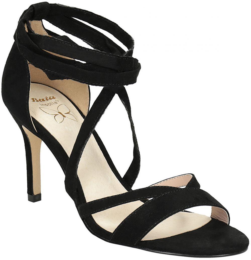 bc55543921ec Dámske šnurovacie sandále na podpätku značky INSOLIA - Lovely.sk