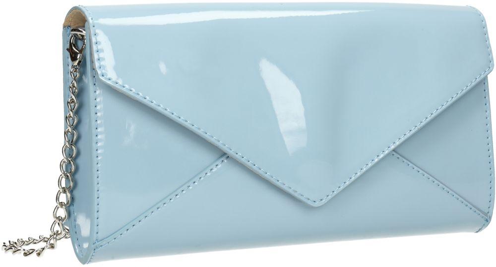 c183ca006 Modrá lakovaná listová kabelka značky Baťa - Lovely.sk