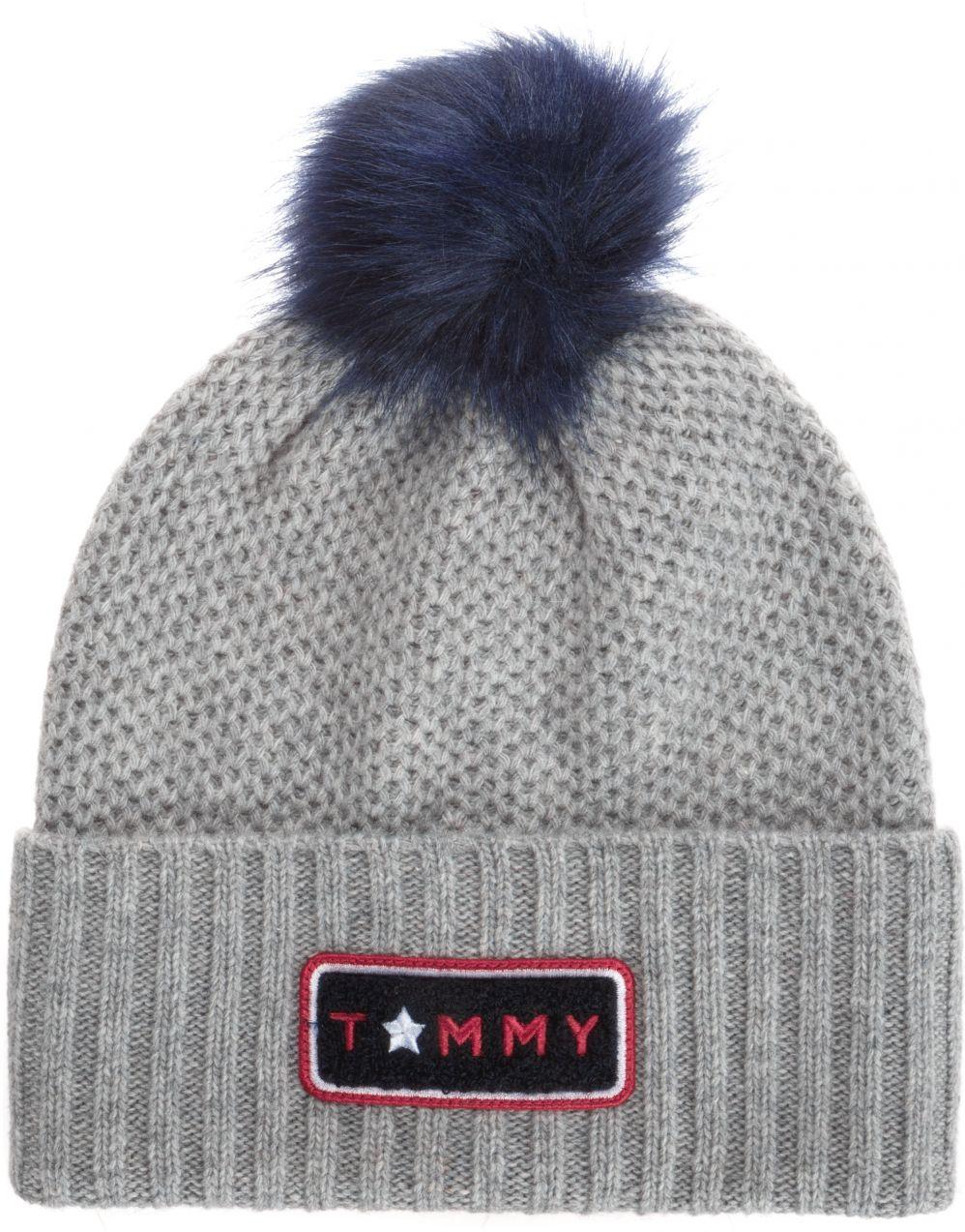 5d08b709e Zimná čiapka Tommy Hilfiger   Šedá   Dámske   UNI značky Tommy Hilfiger -  Lovely.sk
