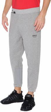 Sivé melírované pánske tepláky adidas Originals PT značky adidas ... 4f7ef406778