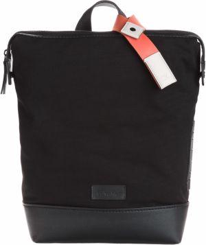 337ac8e17 Čierny batoh s hnedým popruhom Herschel Post 16 l značky Herschel ...