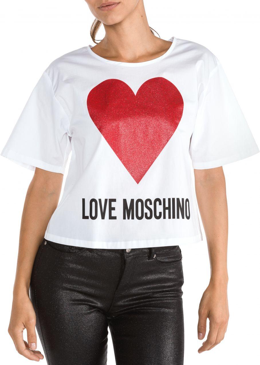 3dd55eb32 Lovely Žena Oblečenie Tričká, topy, tielka Tričká s krátkym rukávom · Tričko  Love Moschino