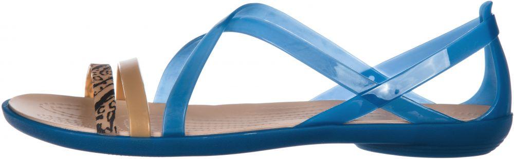 Isabella Graphic Strappy Sandále Crocs značky Crocs - Lovely.sk 9a96efdfde