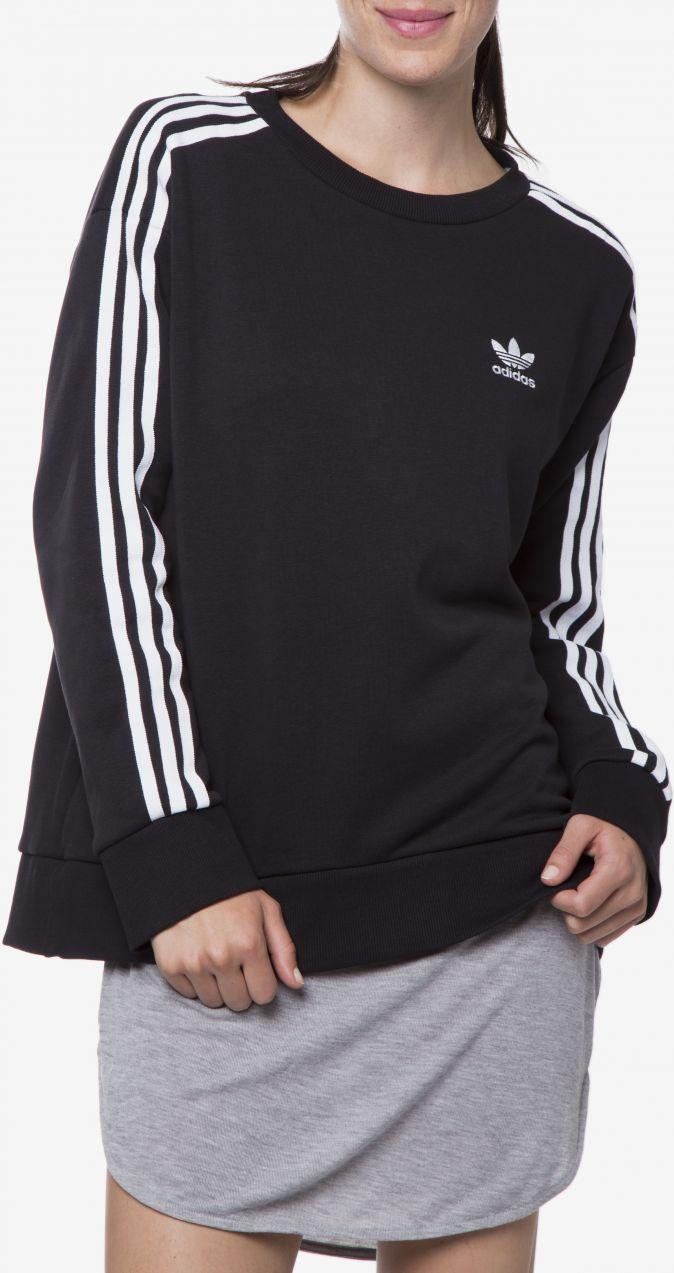 1aab90dcf 3-stripes Mikina adidas Originals | Čierna | Dámske | 38 značky adidas  Originals - Lovely.sk