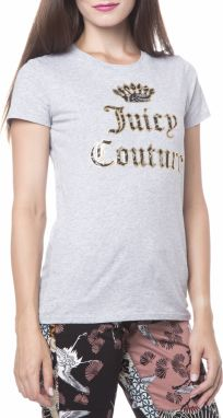 Juicy Lace Graphic Tričko Juicy Couture | Šedá | Dámske | S