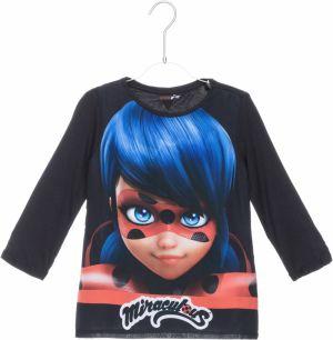 2a3e230b3faa Červené kvetované dievčenské tričko s dlhým rukávom Tom Joule značky ...
