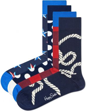 Nautical Ponožky 4 páry Happy Socks