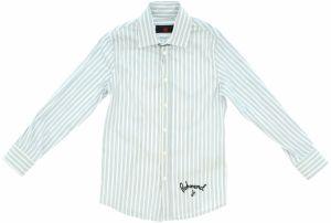e3eb78811ae5 Modrá chlapčenská kockovaná košeľa s vreckom Mix´n Match značky Mix ...