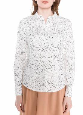 e89a1a41bb1e Biela dlhá košeľa VERO MODA Juljane značky Vero Moda - Lovely.sk