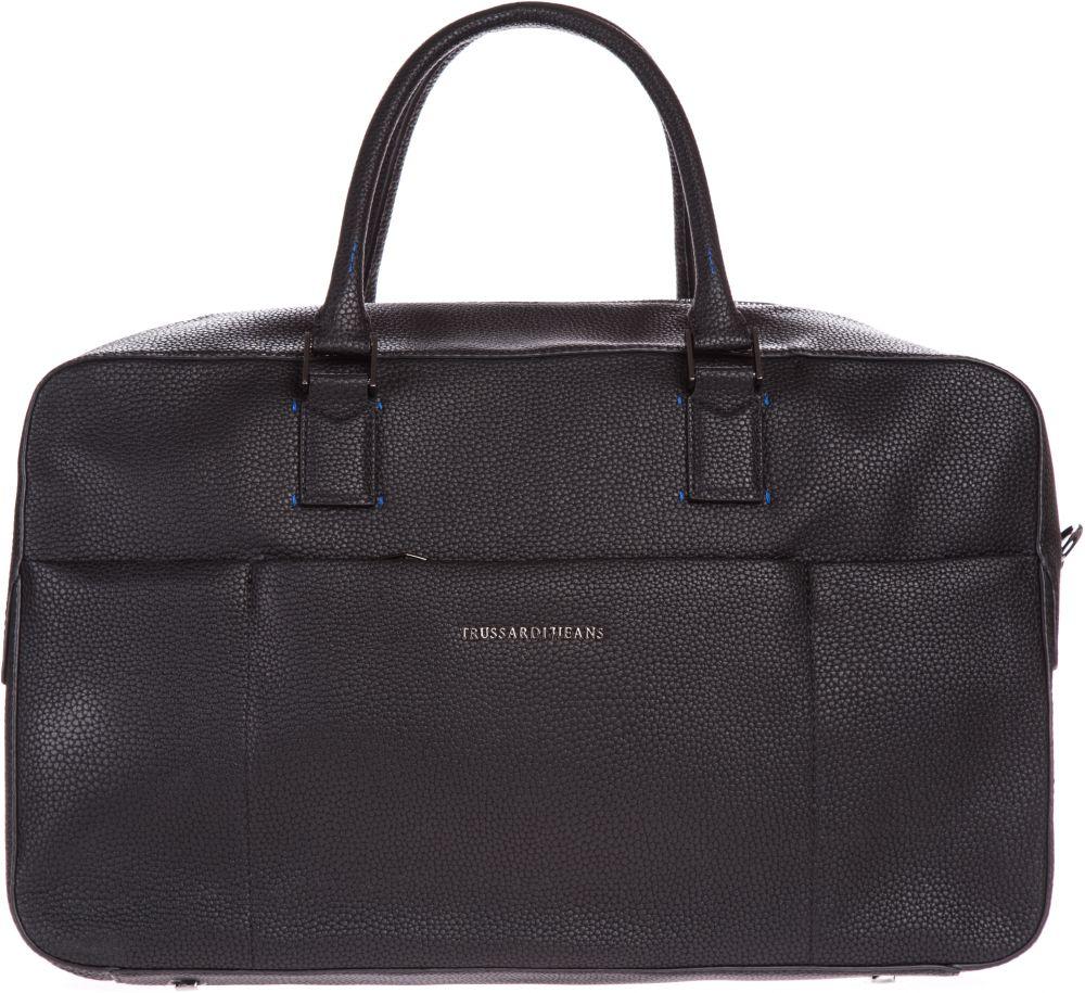 ac97e8464 Cestovná taška Trussardi Jeans | Čierna | Pánske | UNI značky Trussardi  Jeans - Lovely.sk