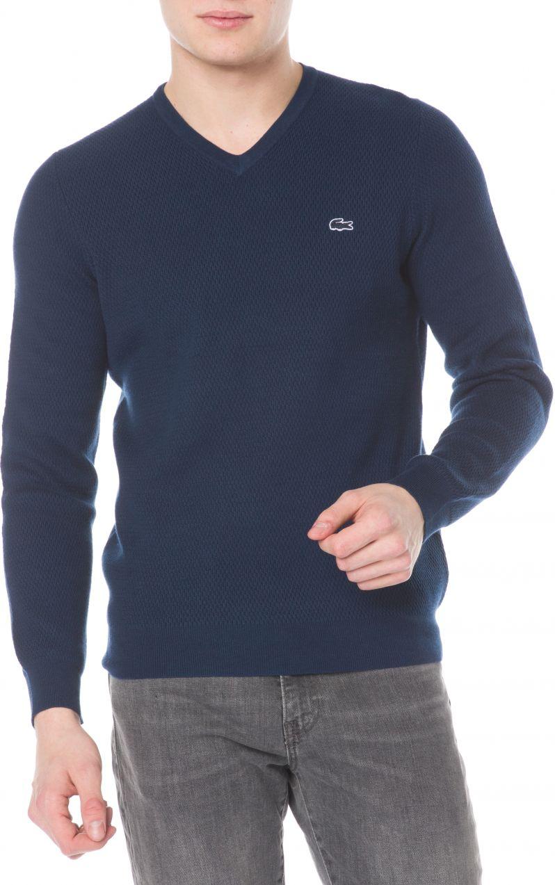 37cf5495fea79 Sveter Lacoste | Modrá | Pánske | L značky Lacoste - Lovely.sk