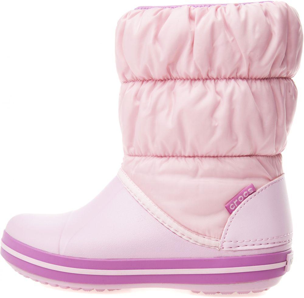 6fbe37a8889f1 Winter Puff Snehule detské Crocs | Ružová | Dievčenské | 25-26 značky Crocs  - Lovely.sk