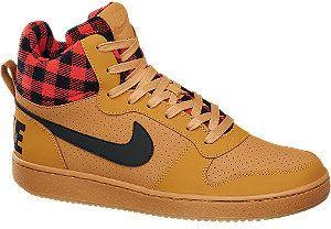 NIKE - Členkové tenisky Court Borough Mid značky Nike - Lovely.sk 8433f253055