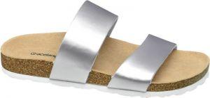 753dd150ec7b Dámske zdravotné šľapky v zlatostriebornej farbe Scholl Vinny značky ...