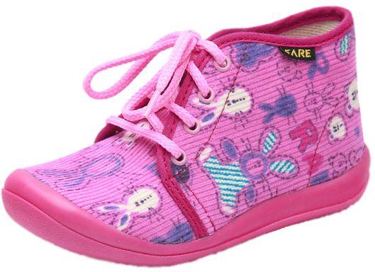 Fare Dievčenské papučky so zajačikmi - ružové značky Fare - Lovely.sk ab45c7d89e