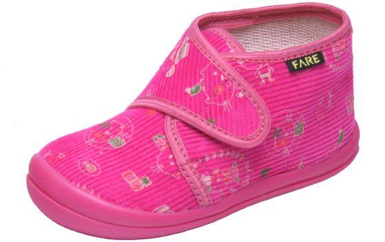 Fare Dievčenské papučky s mačičkami - ružové značky Fare - Lovely.sk ffa38a54d1