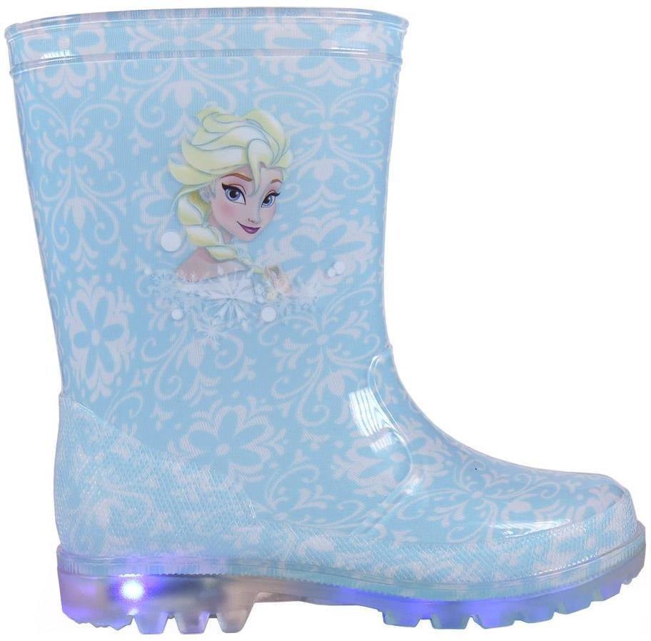 Disney Brand Dievčenské svietiace gumáky Frozen - modré značky Disney Brand  - Lovely.sk 8fcb5f44e0c