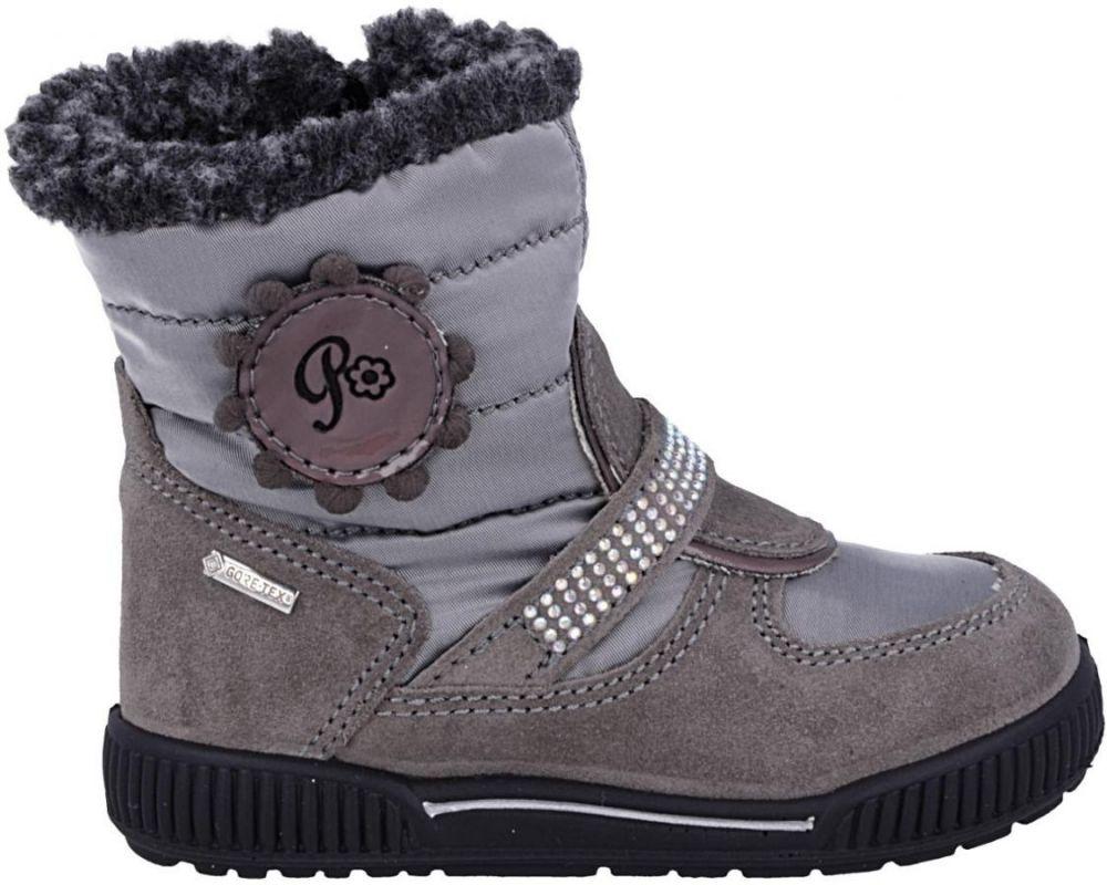 Primigi Dievčenské zimné topánky - šedé značky Primigi - Lovely.sk 7e0312427e