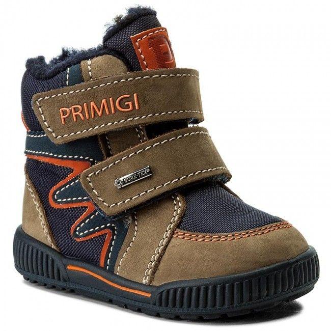 0bfea1f60308 Primigi Chlapčenské zimné topánky - modro-hnedé značky Primigi - Lovely.sk