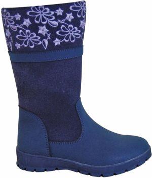 Protetika Dievčenské čižmy ATENA - modré 36bb4277c4