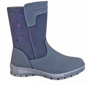 Protetika Chlapčenské členkové topánky Eliot - šedé značky Protetika ... 683b0e0fd15