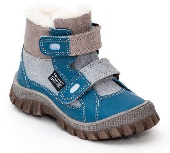 e29b6a9b58a5e RAK Chlapčenské zimné topánky Siberia - modro-šedé značky RAK - Lovely.sk
