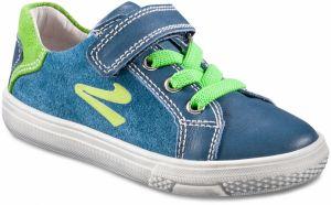 d566d7c56fcd3 Richter Chlapčenské semišové tenisky - modro-zelené značky Richter ...