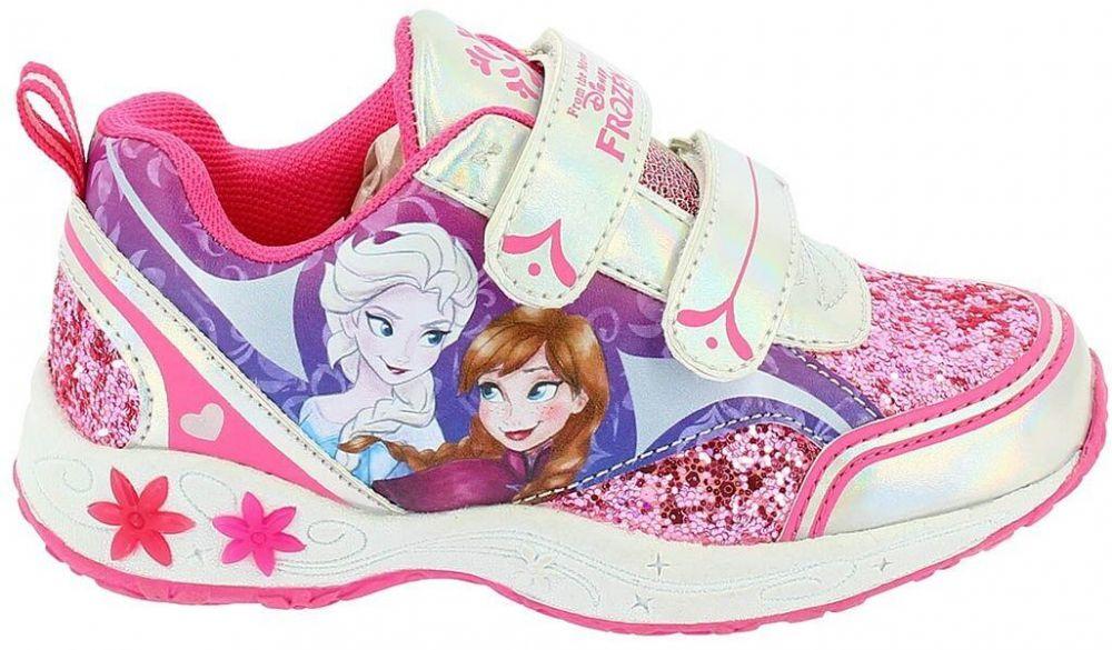 Disney by Arnetta Dievčenské svietiace tenisky Frozen - ružovo-biele značky  Disney by Arnetta - Lovely.sk b01009e0e0b