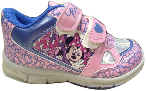Disney by Arnetta Dievčenské svietiace tenisky Minnie - svetlo ružové  značky Disney by Arnetta - Lovely.sk 259439df4a2