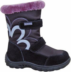 e533a8435c Protetika Dievčenské zimné topánky SIERA - čierne značky Protetika ...