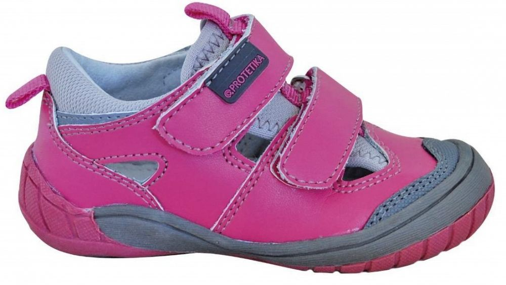 a6dfcfd7d4 Protetika Dievčenské topánky Gars - ružové značky Protetika - Lovely.sk