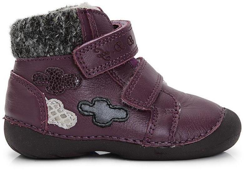 D.D.step Dievčenské zateplené členkové topánky - fialové značky D.D.step -  Lovely.sk ee5116d9754