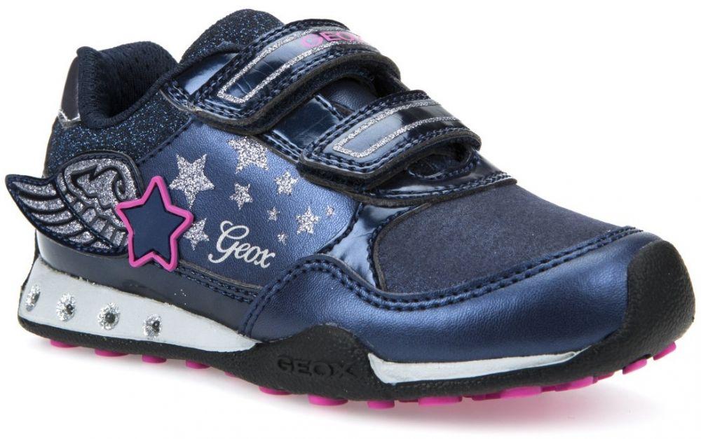 Geox Dievčenské svietiace tenisky New Jocker - tmavo modré značky Geox -  Lovely.sk d065b32d5f0
