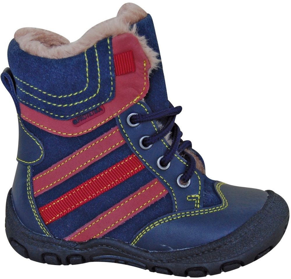 58d86d994a149 Protetika Chlapčenské zimné topánky ALEX - modré značky Protetika -  Lovely.sk
