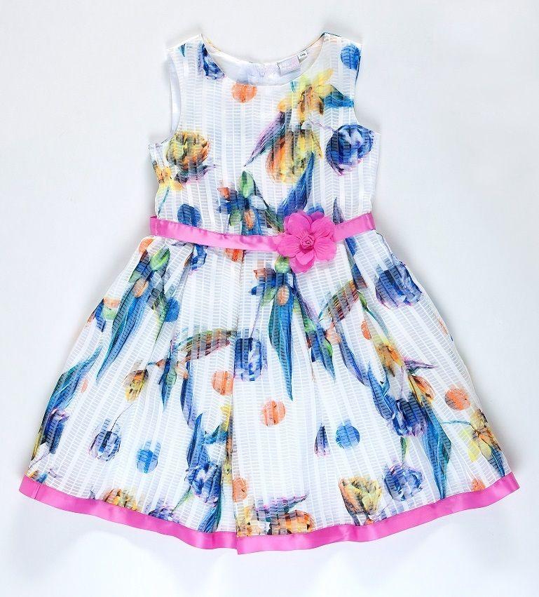 911cc267b8c7 Topo Dievčenské šaty s kvetmi - farebné značky Topo - Lovely.sk