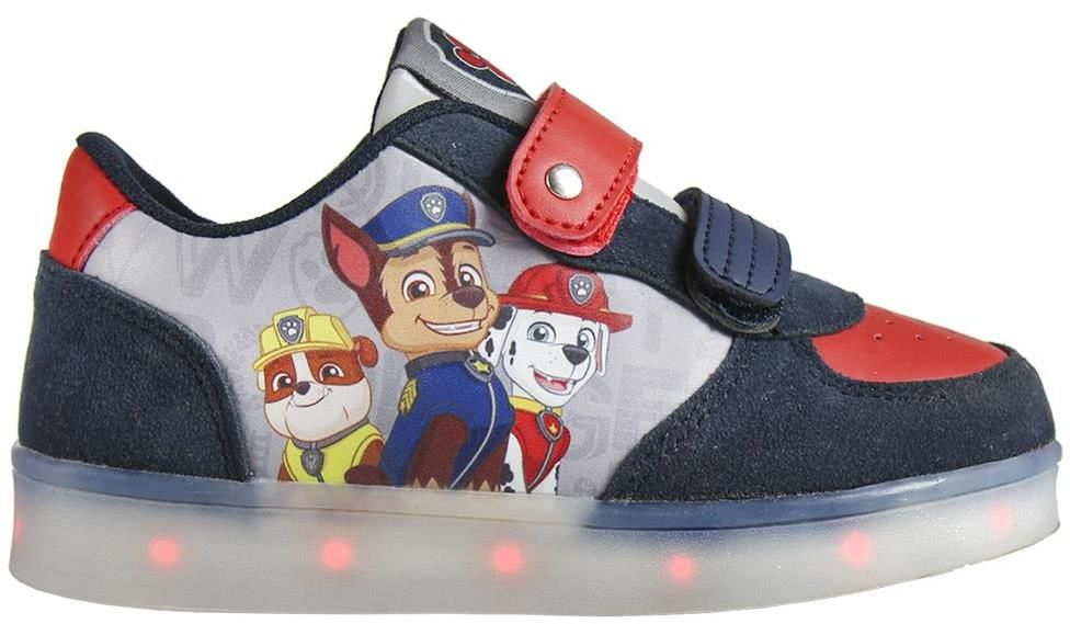Disney Brand Chlapčenské svietiace tenisky Paw Patrol - farebné značky  Disney Brand - Lovely.sk 5dd7354a76f