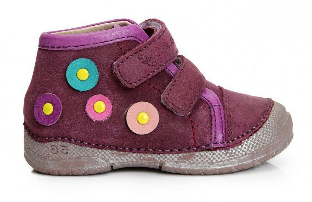 c26a3e499c D.D.step Dievčenské členkové topánky - fialové značky D.D.step - Lovely.sk