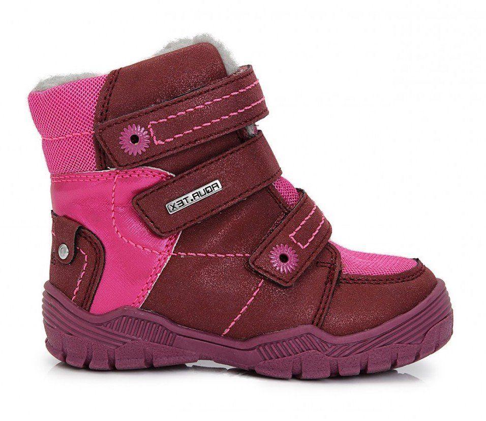 301b1946f3 D.D.step Dievčenské zateplené topánky - ružové značky D.D.step - Lovely.sk