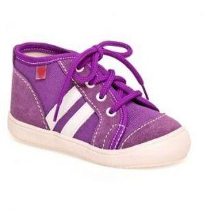 5f85686857 RAK Dievčenské členkové tenisky Veronika - fialové